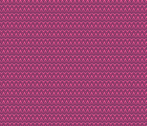 Folky Dokey-Bargello in Fuchsia-Imagine colorway fabric by groovity on Spoonflower - custom fabric
