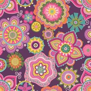 Folky Dokey-Boho-Imagine colorway