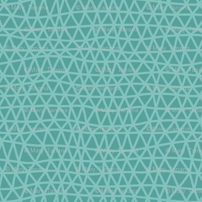 Folky Dokey-Woven in Ocean-Imagine colorway