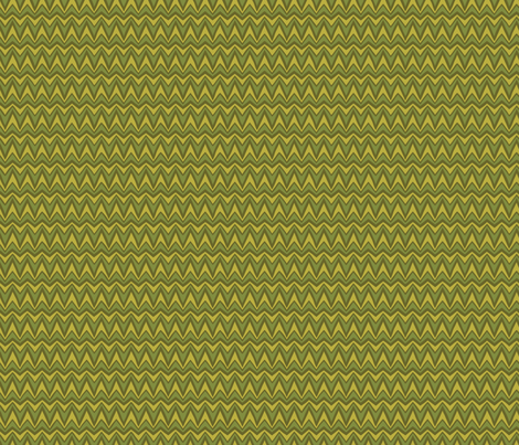 Folky Dokey-Bargello in Army-Serenity colorway fabric by groovity on Spoonflower - custom fabric