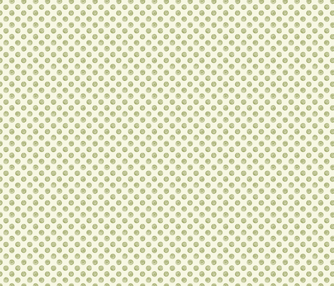 Folky Dokey-Spirals in Cream-Serenity colorway fabric by groovity on Spoonflower - custom fabric