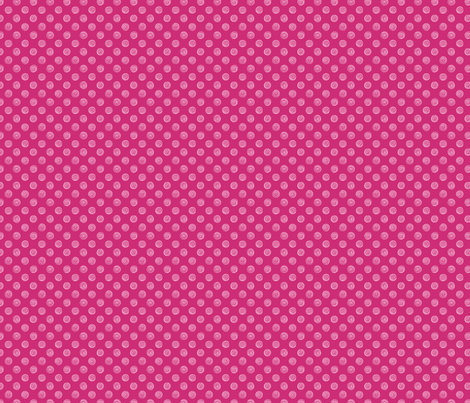 Folky Dokey-Spirals in Rose-Serenity colorway fabric by groovity on Spoonflower - custom fabric