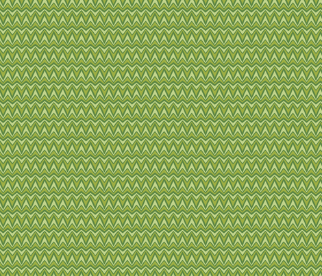 Folky Dokey-Bargello in Fern-Wanderlust colorway fabric by groovity on Spoonflower - custom fabric