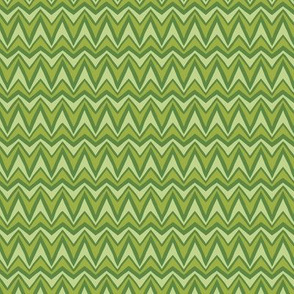 Folky Dokey-Bargello in Fern-Wanderlust colorway