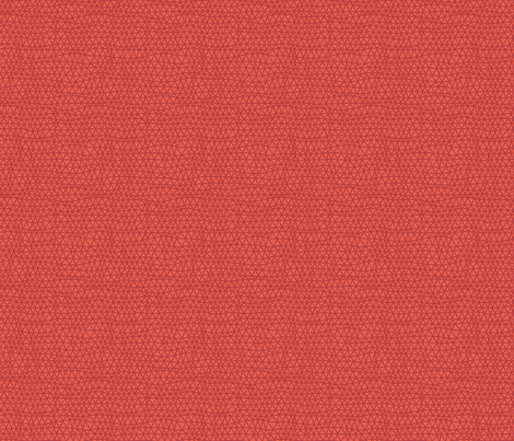 Folky Dokey-Woven in Tomato-Wanderlust colorway fabric by groovity on Spoonflower - custom fabric