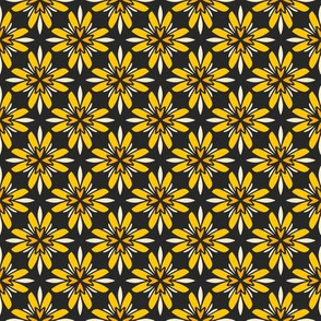 Floral Patchwork Yellow