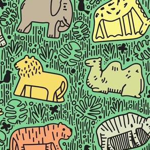 Crunchy Animals