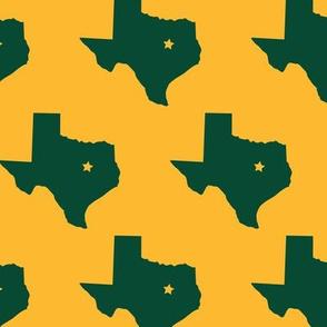 Waco Texas Green and Gold