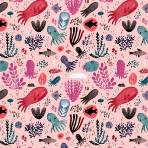Cephalopod Swim