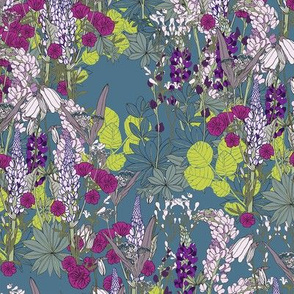 Floral Fiesta Collection: Folk Garden #1