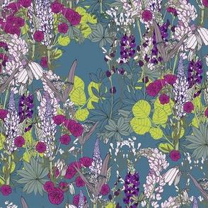 Floral Fiesta Collection: Folk Garden #1