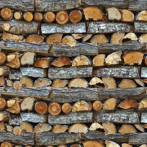 Dean's Infinite Woodpile fabric by midcoast_miscellany on Spoonflower - custom fabric