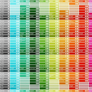 Spectrum 2016 Calendar