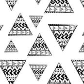 Tribal Monochrome