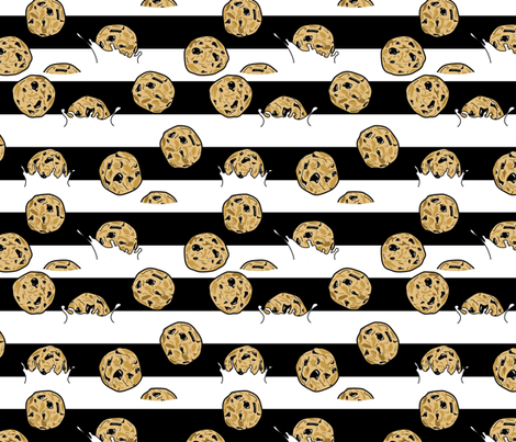 Have you lost your cookies?? fabric by babysisterrae on Spoonflower - custom fabric