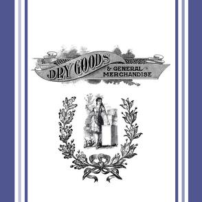 Vintage Dry Goods Indian Grain Sack Inspired