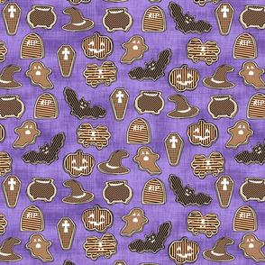 Pop Art Halloween Cookies
