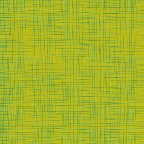 Faux Linen - Green