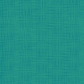 Faux Linen - Light Teal