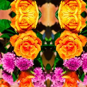 Orange Roses Photo