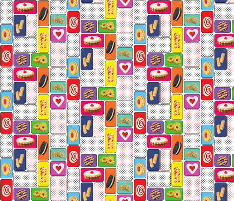 eat your heart out Warhol! fabric by rikkandesigns on Spoonflower - custom fabric