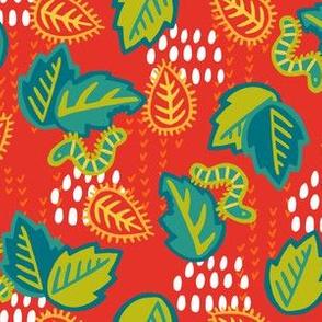 Caterpillar Fiesta - Red