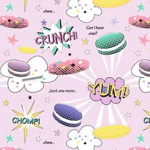 Pop Art Cookie Crunchdown!  Pink