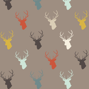Dark Taupe Custom Deer