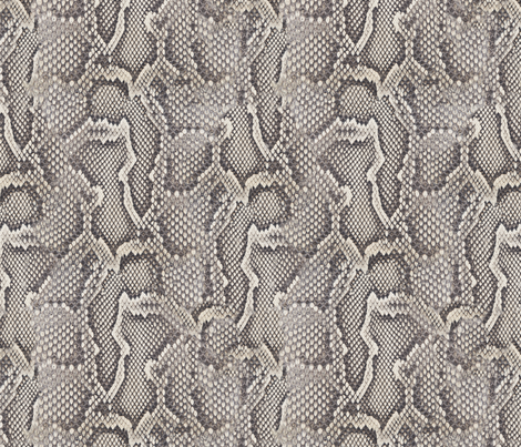 Python fabric by willowlanetextiles on Spoonflower - custom fabric