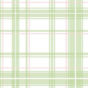 Lotte Tartan in bright basil