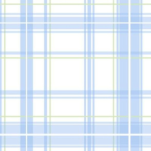 Lotte Tartan in blueberry