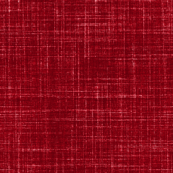Faux linen in cranberry red