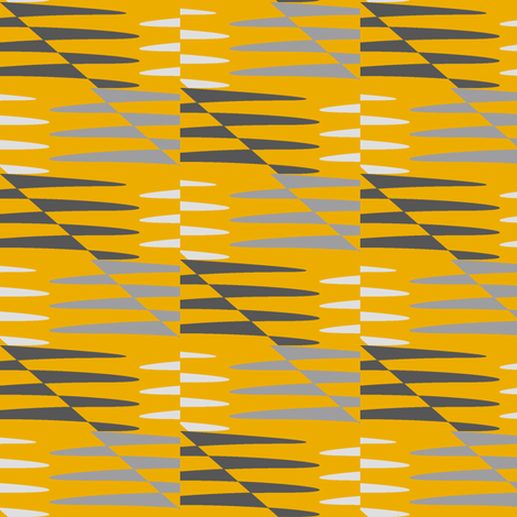 Mobile (Yellow) fabric by david_kent_collections on Spoonflower - custom fabric