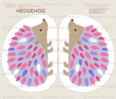 Hedgehog cut and sew