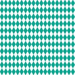 green-blue harlequin