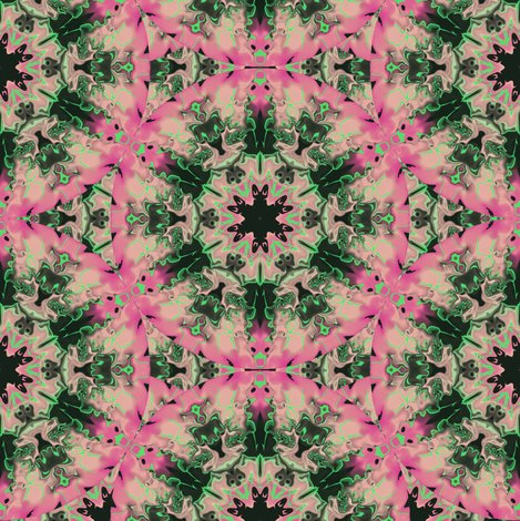Rmarbleized_kaleidoscope_star__pink_and_green_shop_preview