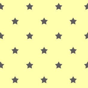 Yellow & Gray Stars