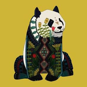 panda ochre swatch