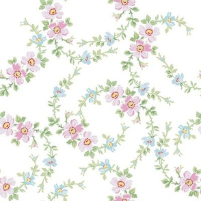 Lilla Wildflowers in sorbet pink