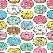 Donuts Multi Colour