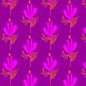 Tropical Splendor -- Purple and Orange