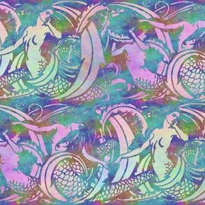 The Mermaids ~ Opalescent 2