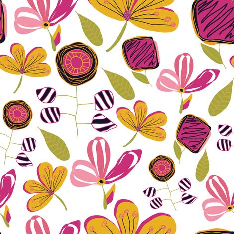 Enchanted Garden fabric by studiojulieann on Spoonflower - custom fabric