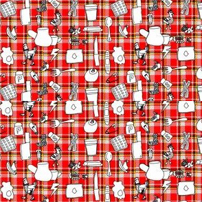 Plaid Punk Kitchen