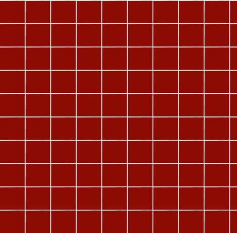 red grid fabric by ali*b on Spoonflower - custom fabric