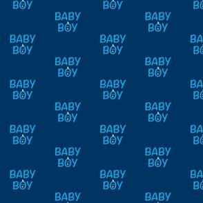 Blue Baby Boy