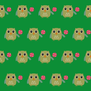owl fabric, wallpaper & gift wrap - Spoonflower