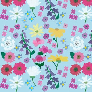 My Flower_Garden_Blue