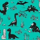 Rrrlibrary_dinos_aqua_copyright_pinkywittingslow_2015-01_shop_thumb