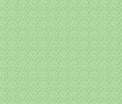 Spirals-Green fabric by groovity on Spoonflower - custom fabric